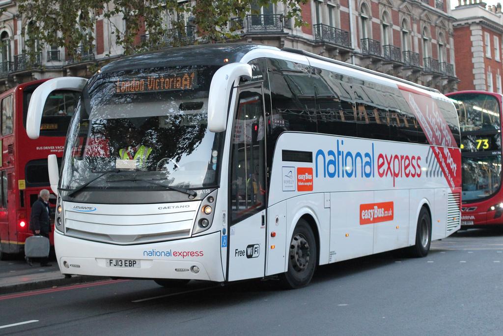 Автобус из Хитроу в Лондон