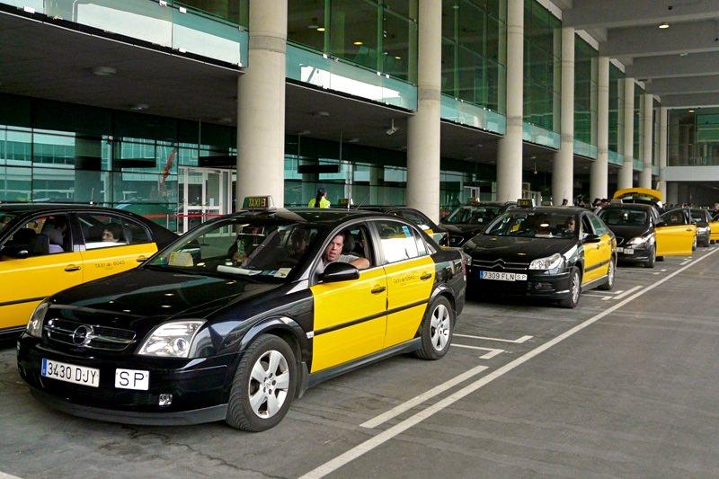 Такси из аэропорта Барселоны