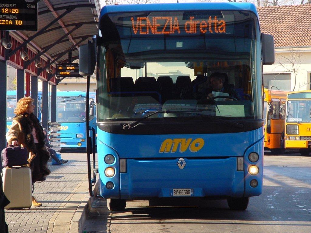 Шаттл ATVO из аэропорта Венеции