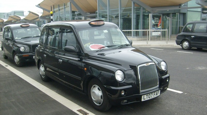На такси из Хитроу до отеля