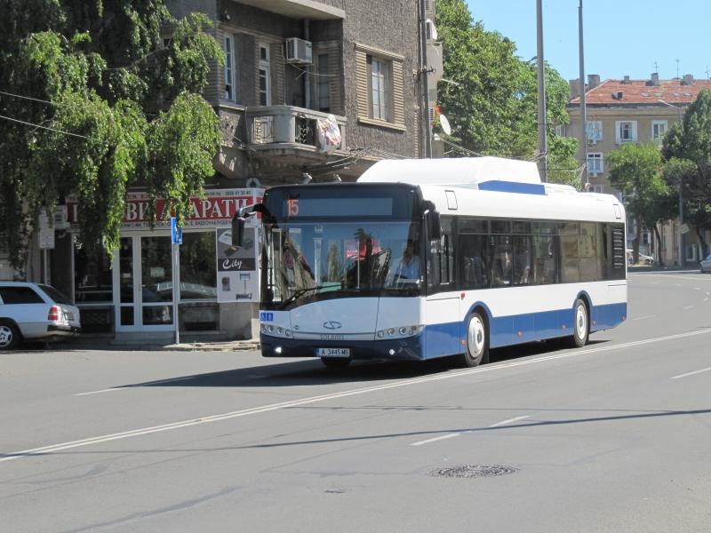 Автобус №15 из Сарафово в Бургас