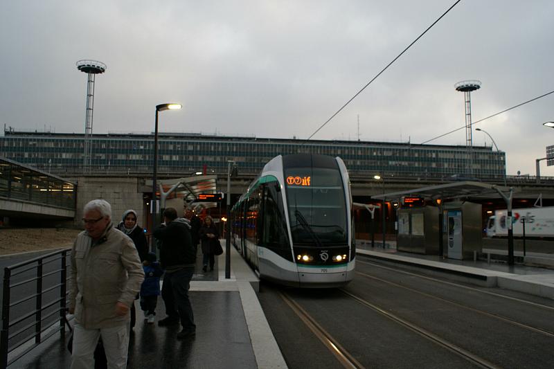 Трамвай номер 7 из Орли