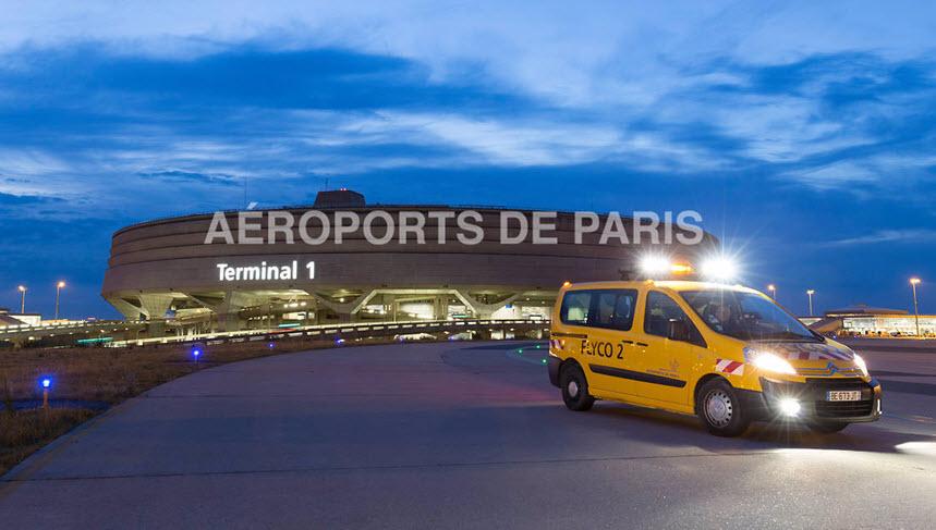 Такси из аэропорта Шарль-де-Голль