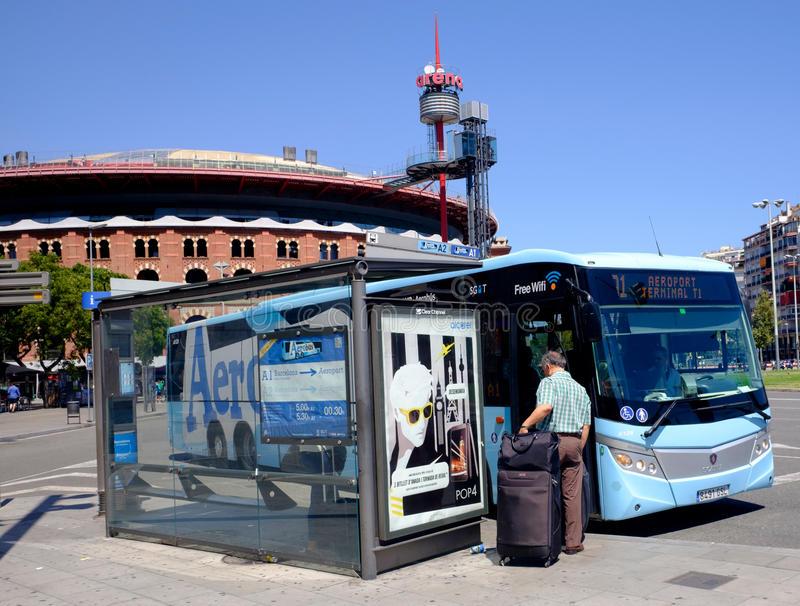 AeroBus из аэропорта Барселоны