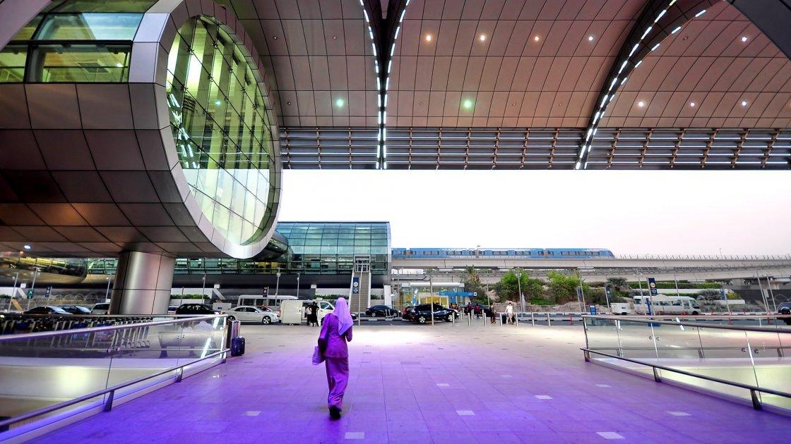 Терминалы аэропорта Дубаи