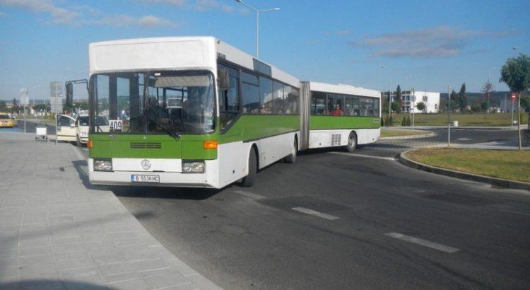 Автобус из Варны в город