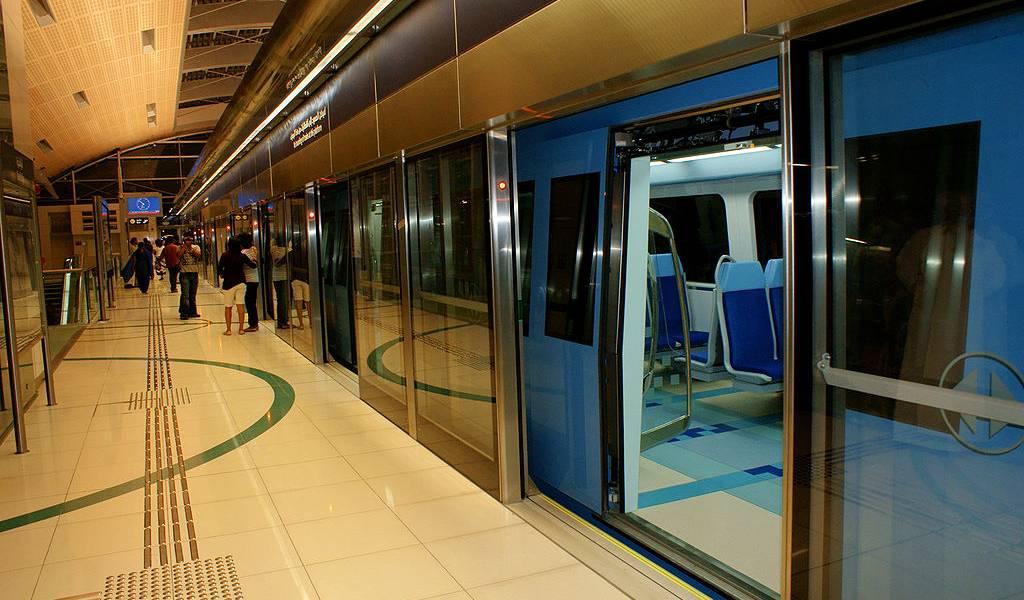 Метро из аэропорта Дубаи