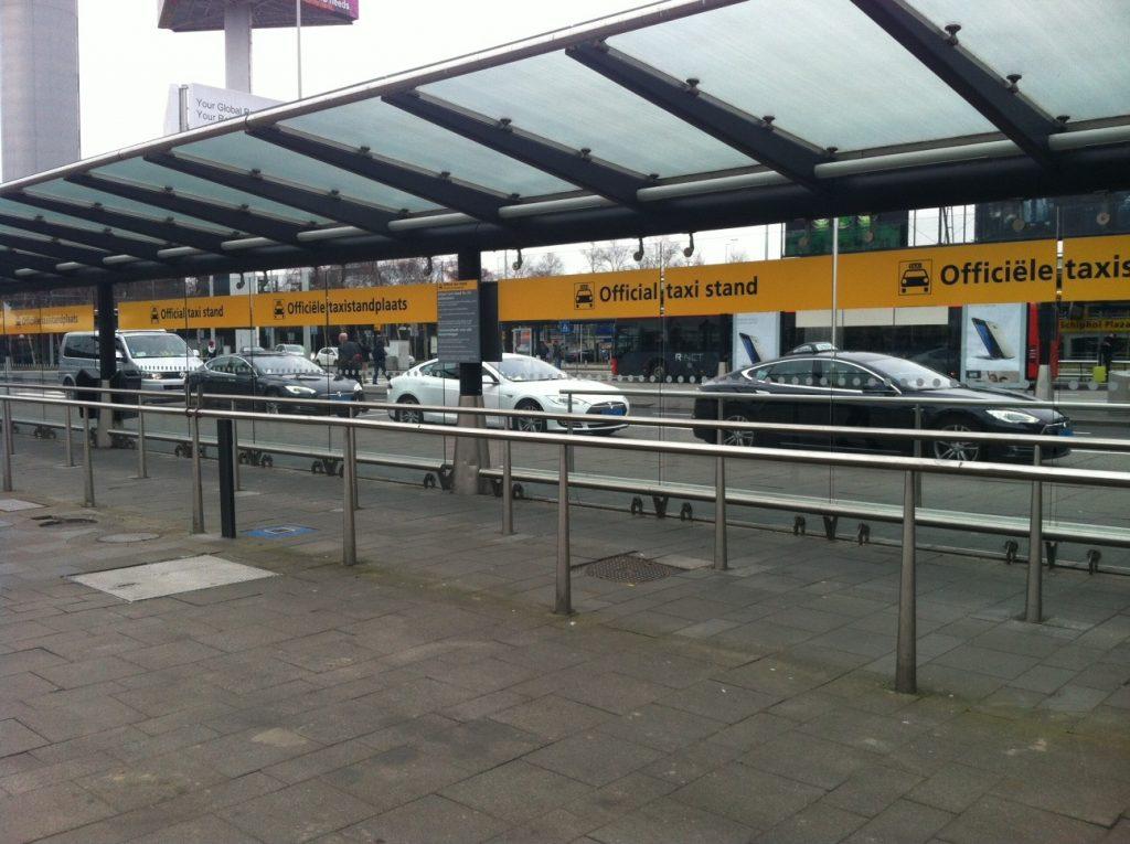 Такси из Схипхол в Амстердам