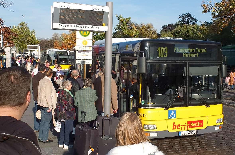 Автобус 109 в Берлине