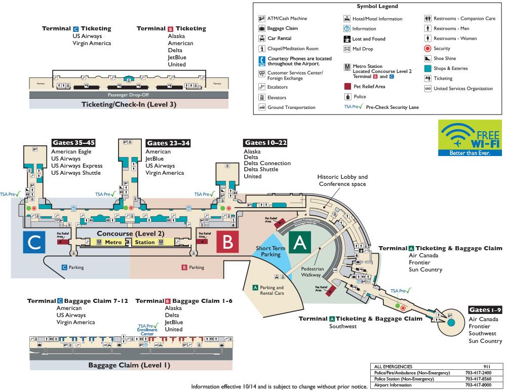 Dca Gate Map | Kak-kuda.info Dca Map on