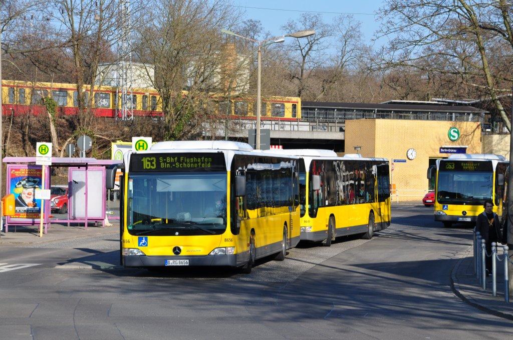 Автобус из аэропорта Шенефельд в Берлин