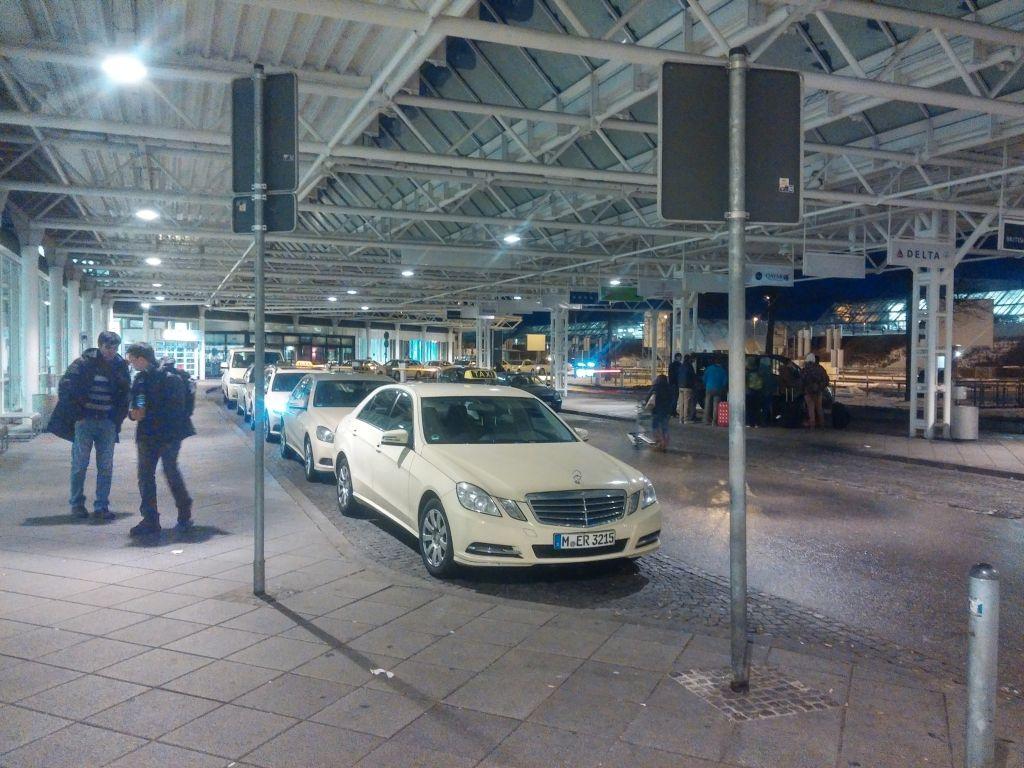 Такси из аэропорта Мюнхена в город