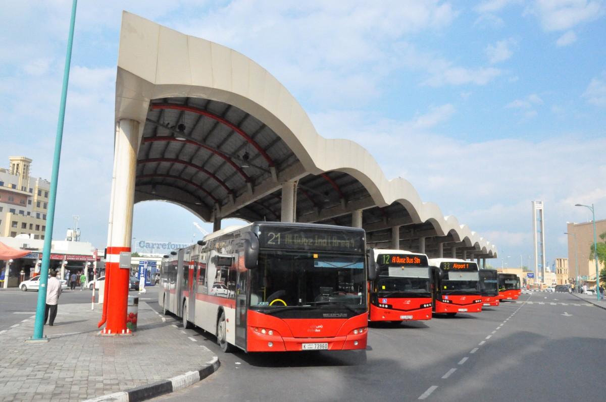 Автобус из Дубай в Абу Даби