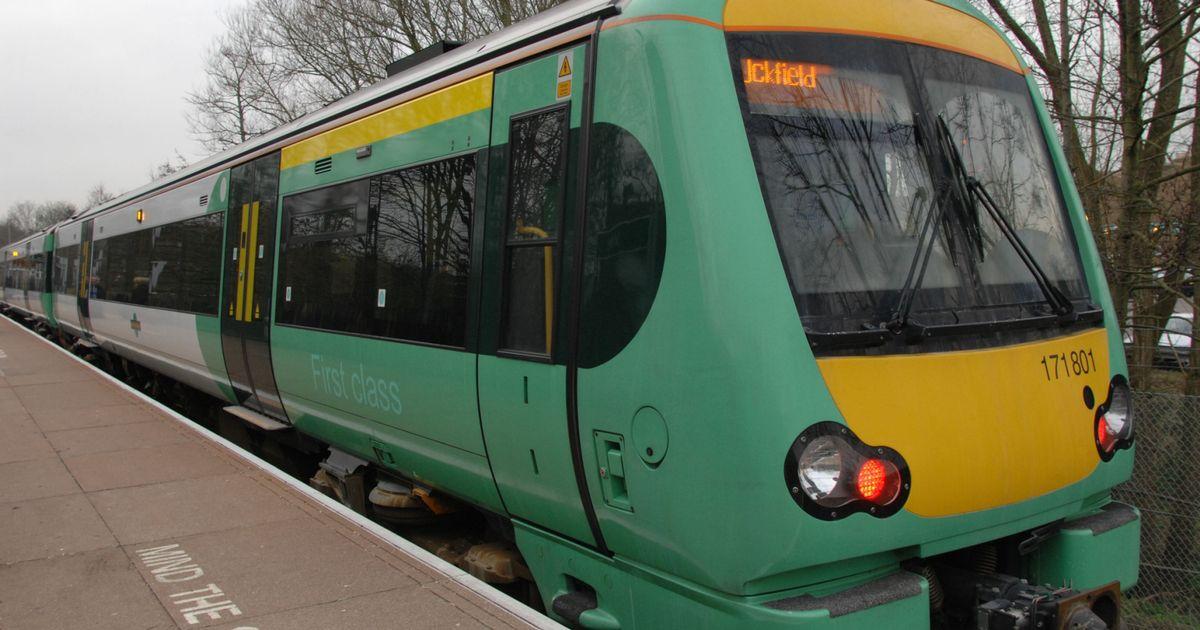 Southern поезд в центр Лондона