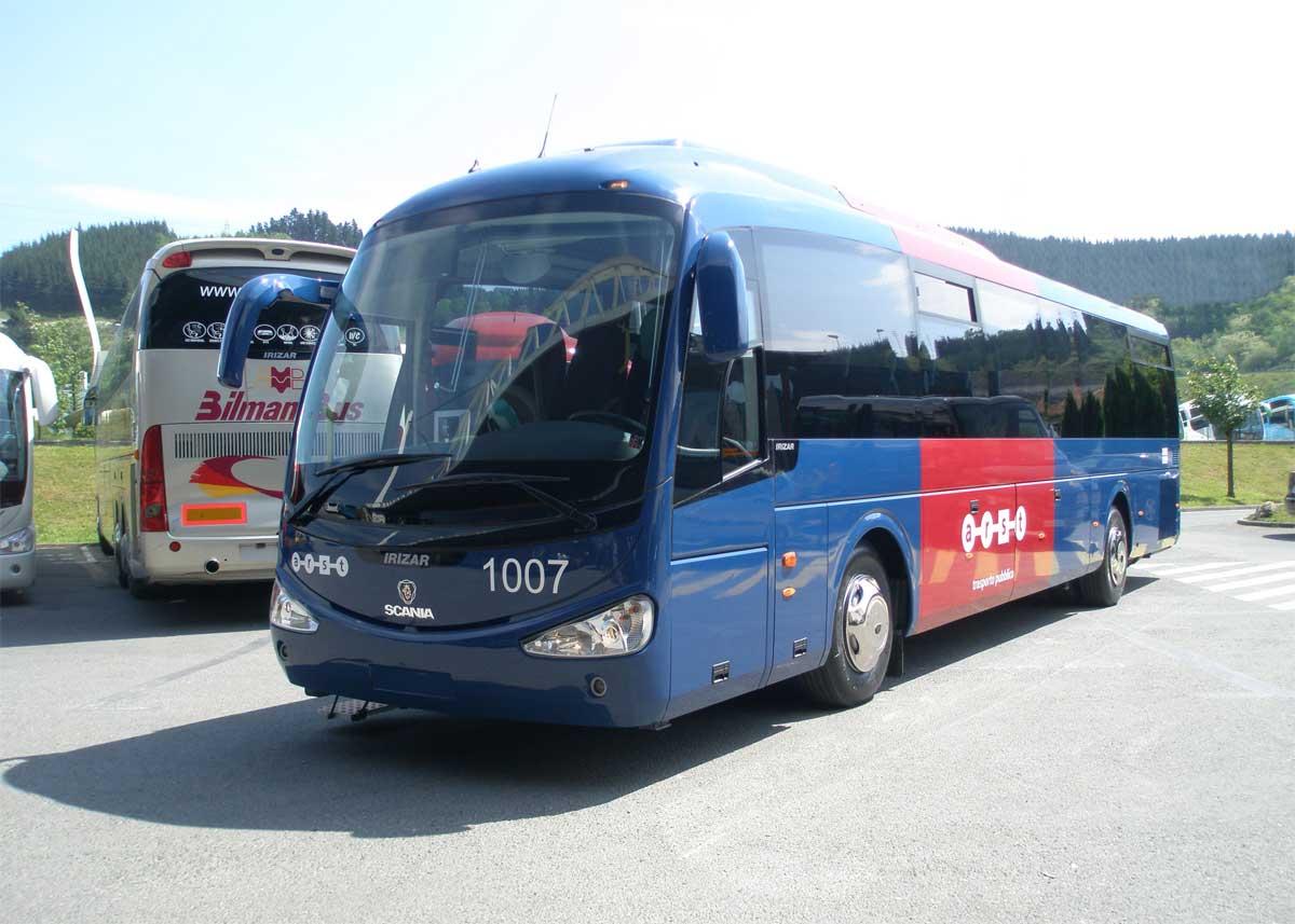 Из Тивата в Будву на автобусе