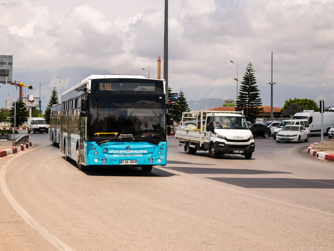Автобус из Анталии в Аланию