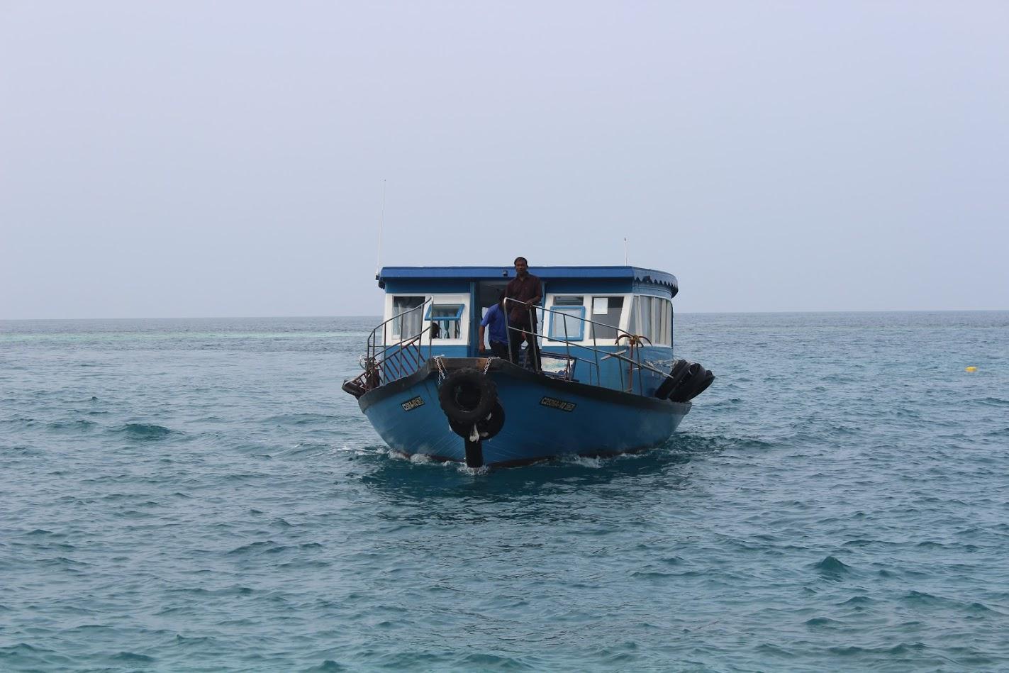 Паром из аэропорта Мальдив на остров Мале