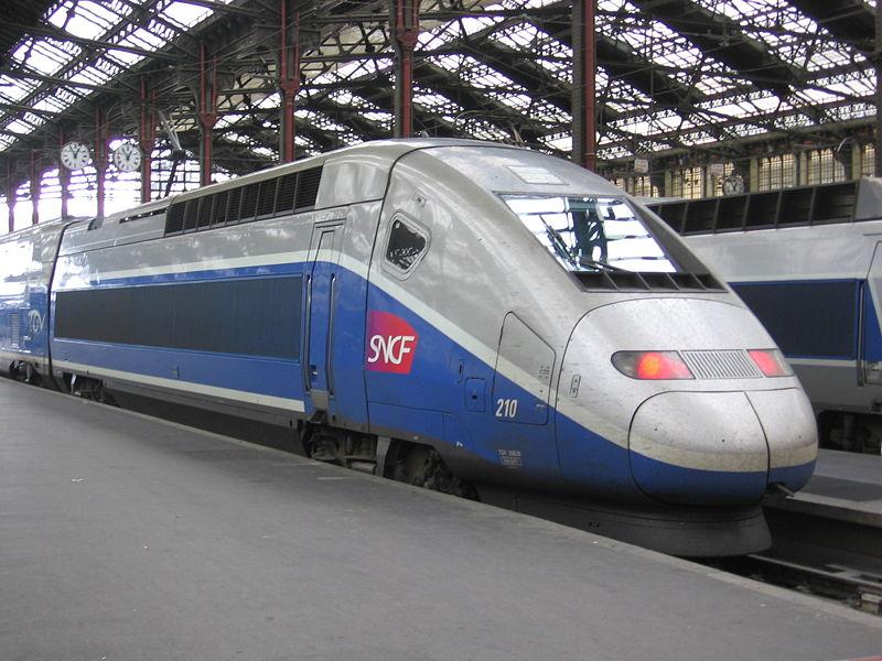 Поезд из аэропорта Марсель в город
