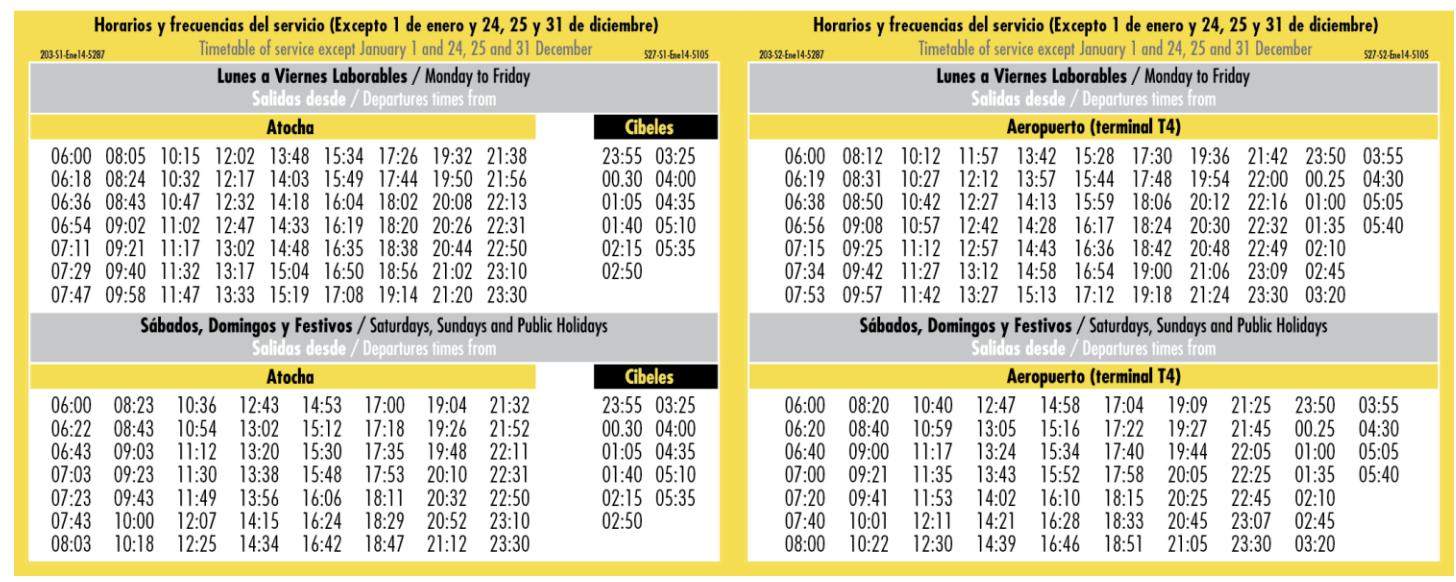 Расписание автобусаAirport Express