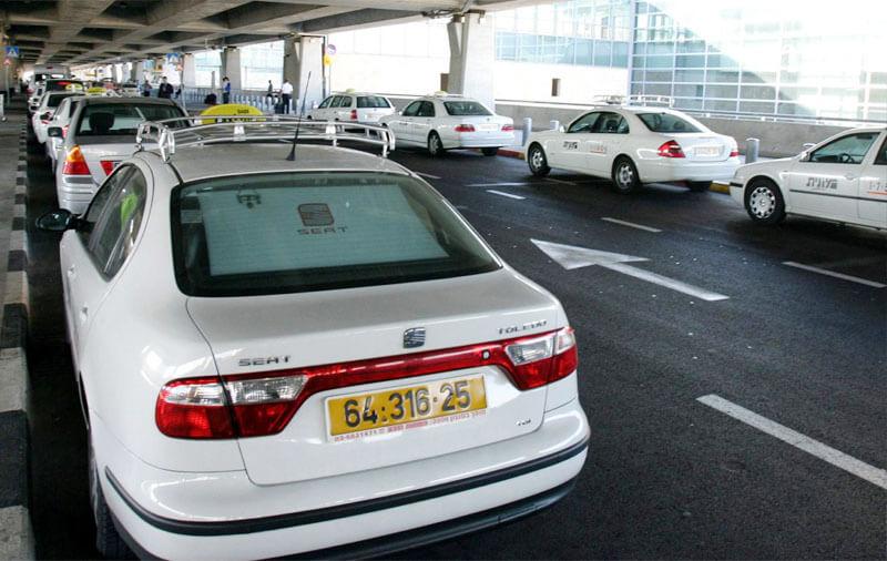 Такси из аэропортаБен-Гурион в город