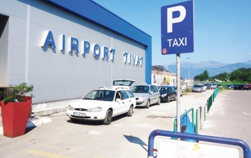 Такси из аэропорта Тиват