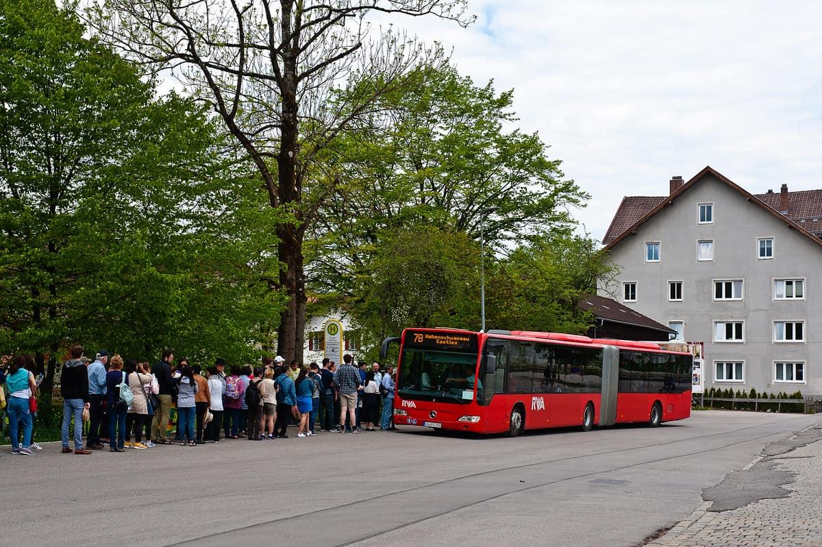 Автобус из МюнхенавНойшванштайн