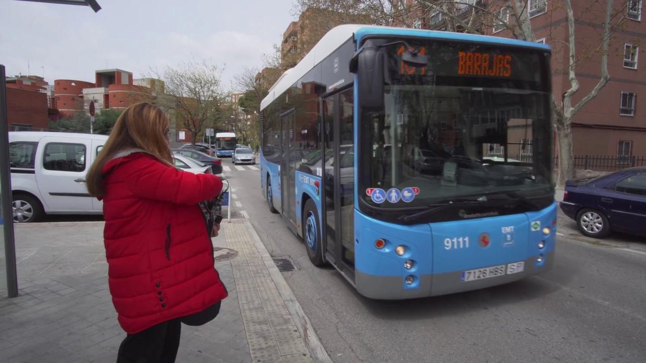 Автобус №101 из аэропорта Барахас
