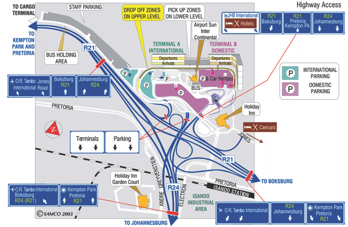 Схема аэропорта Салоники