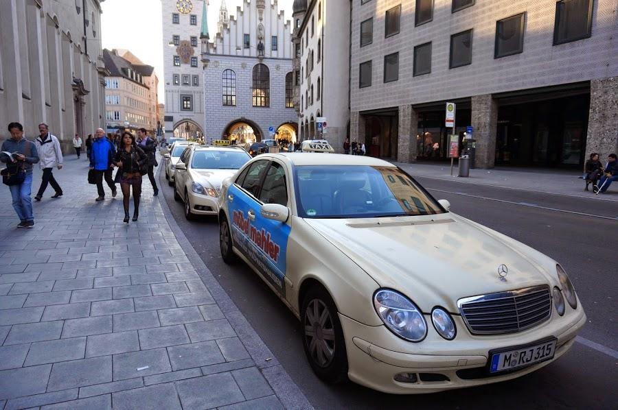 Такси из аэропорта Меммингена в Мюнхен
