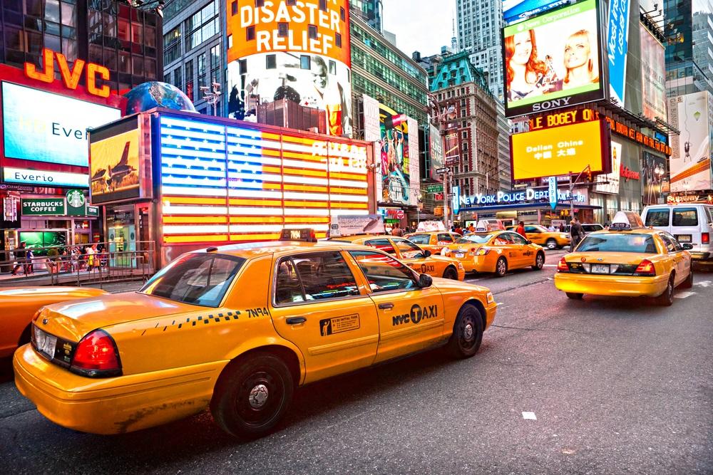 Такси из аэропорта Нью-Йорка в город