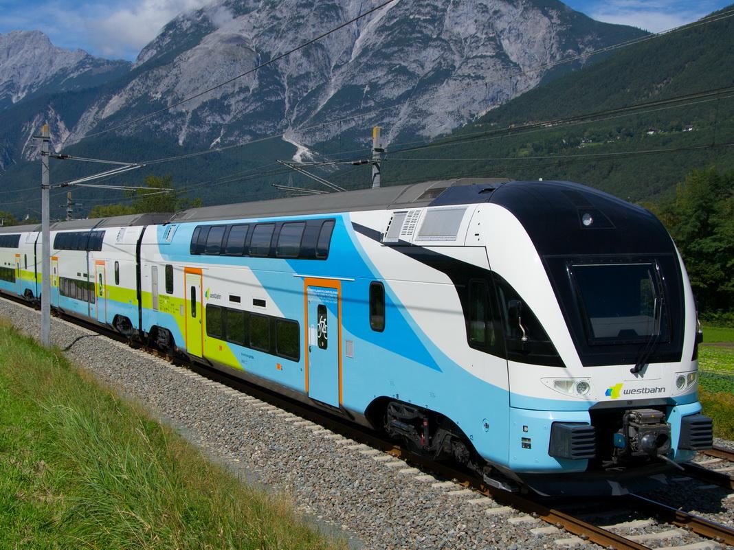 Поезд из Вены в Зальцбург