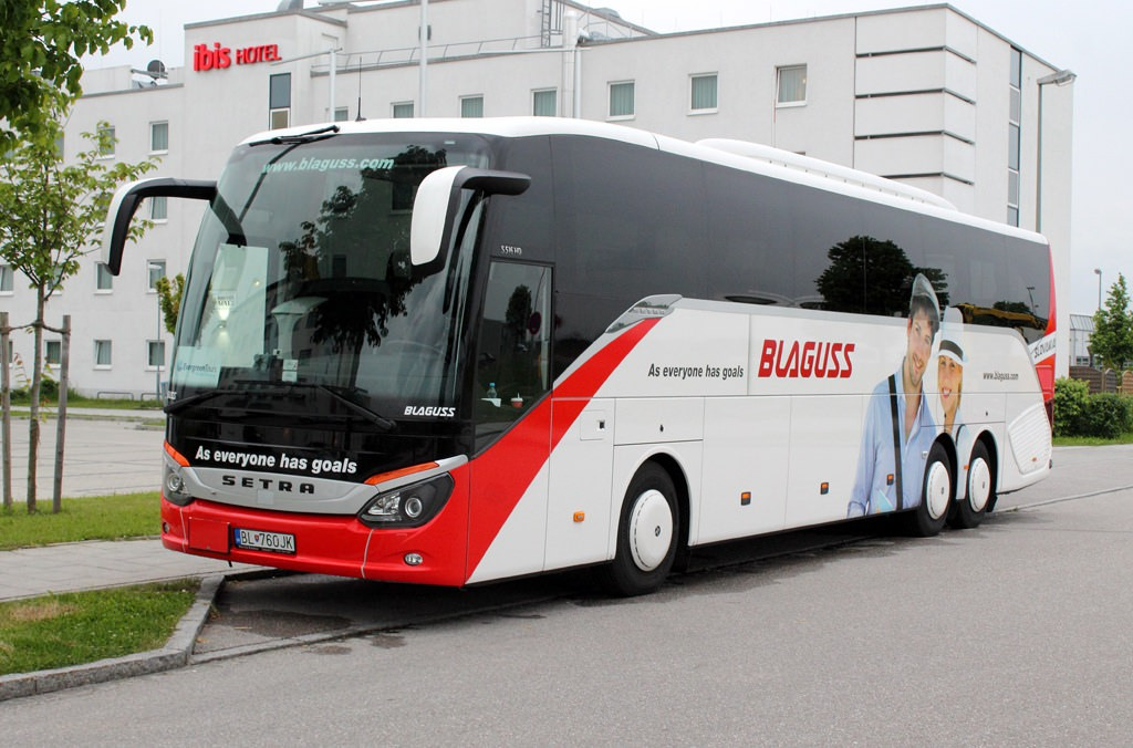 Blaguss Slovakia из Братиславы в Вену
