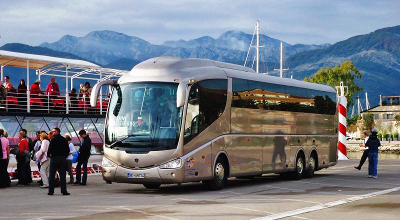 Автобус из аэропорта Тиват в Петровац