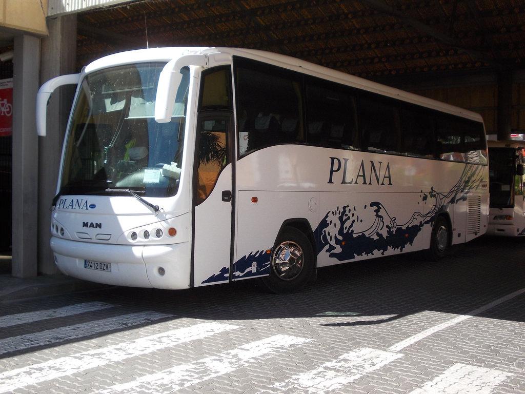 Автобус из Барселоны в Салоу