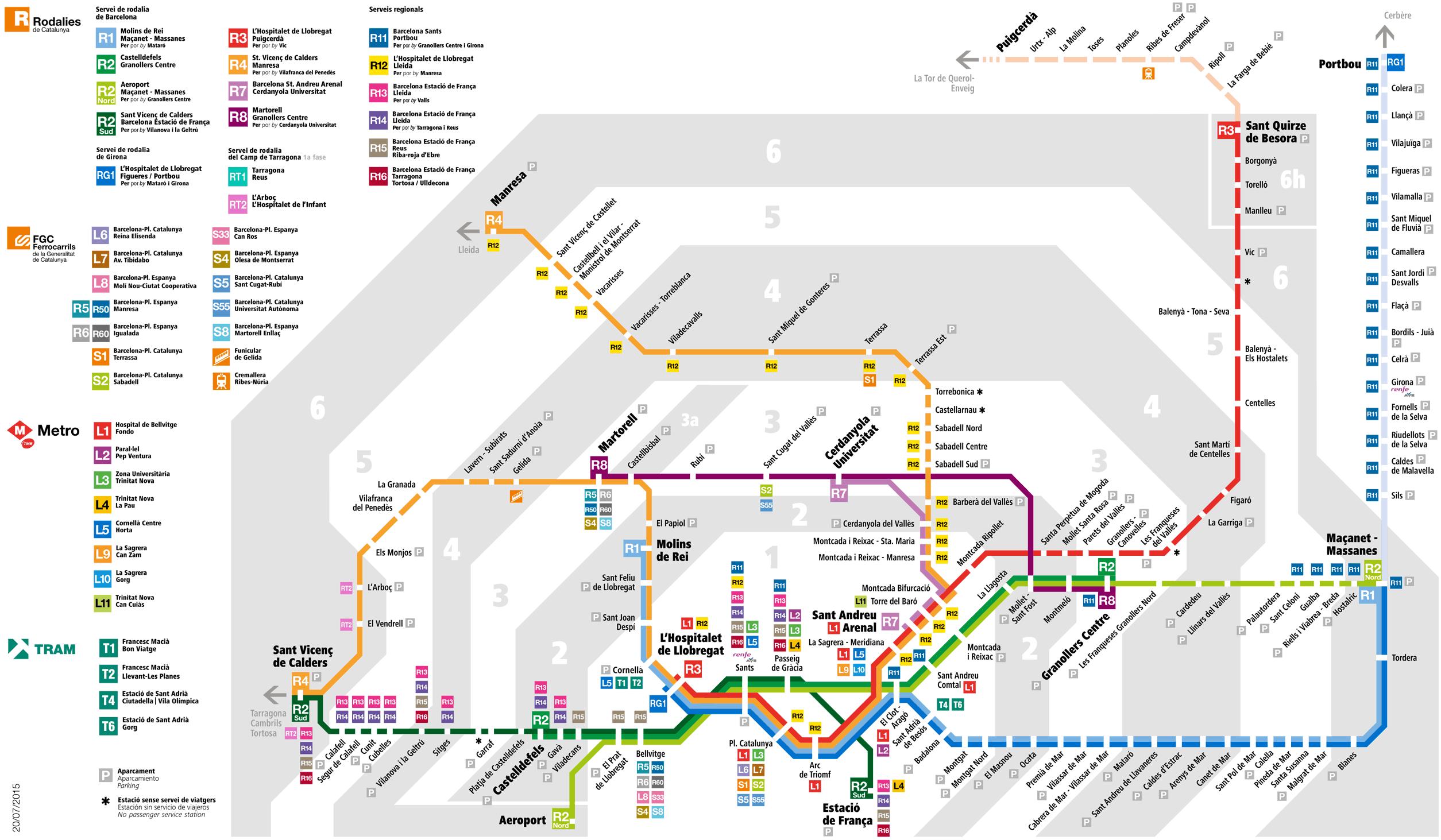 Схема поездовRenfe
