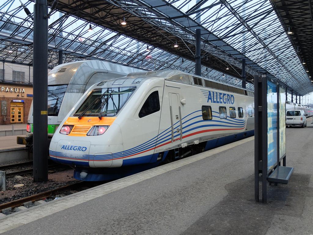 Поезд Аллегро санкт-петербург-хельсинки