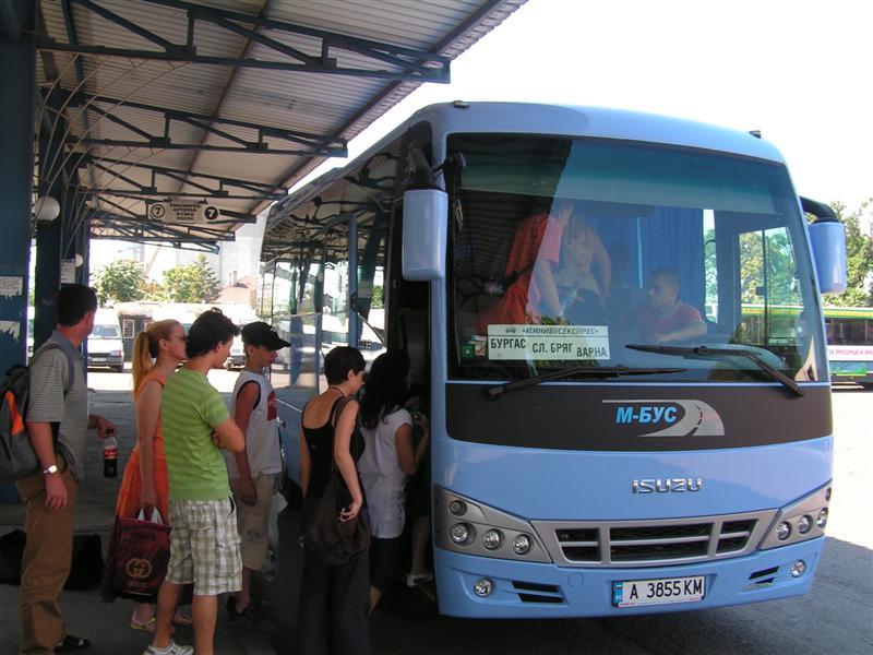 Автобус из Бургаса в Варну