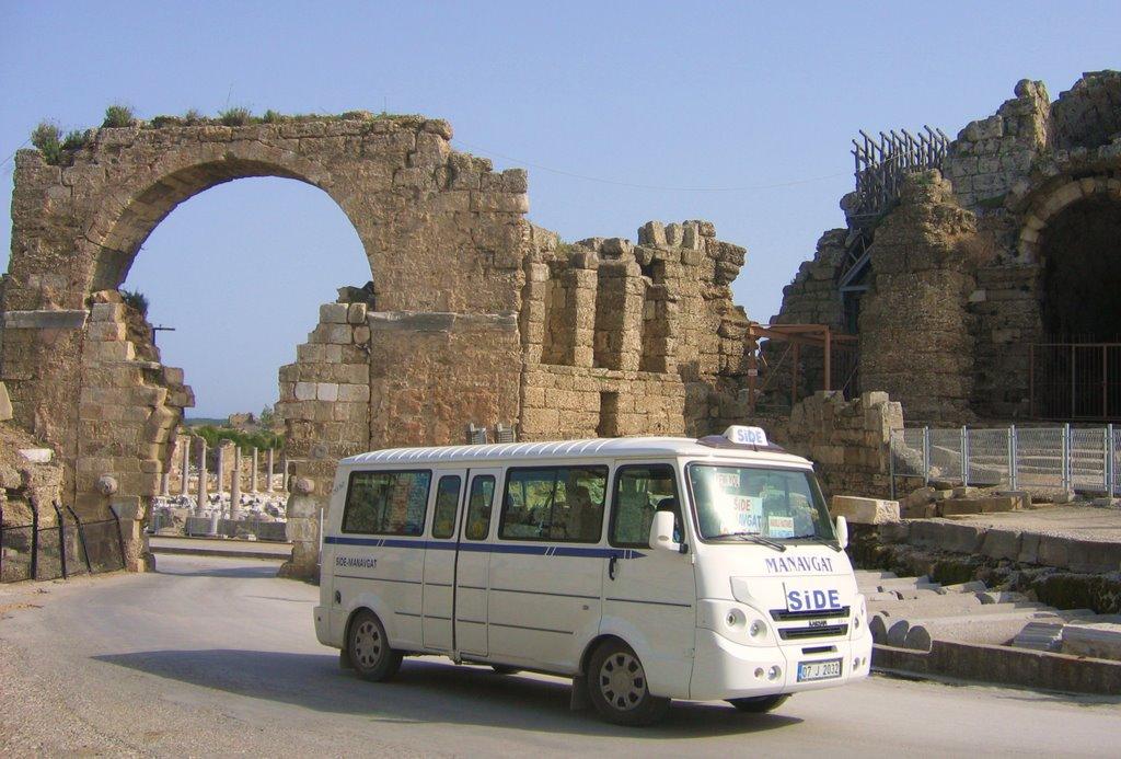 Автобус из Анталии в Сиде