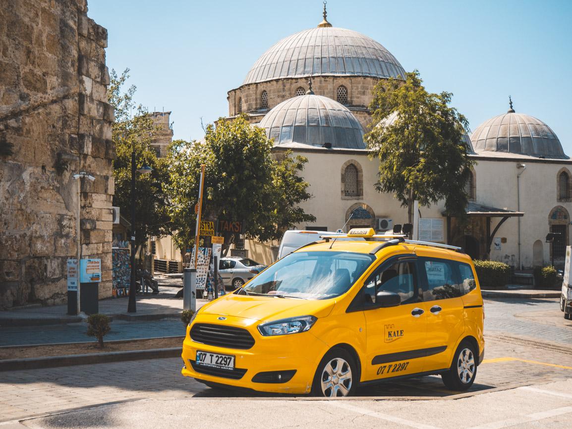 Такси из аэропорта Анталии в Сиде