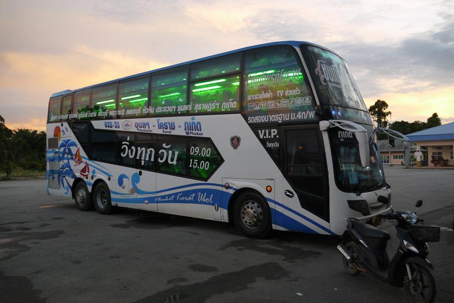 Автобус из Пхукета в Краби