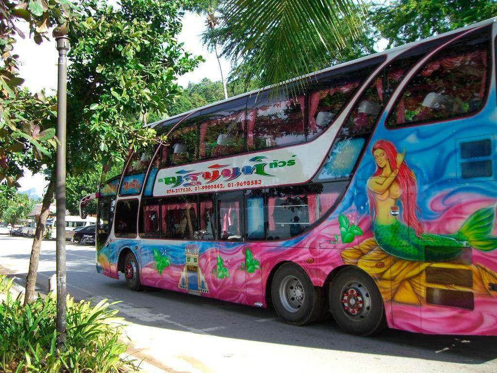 Автобус из Бангкока до Краби