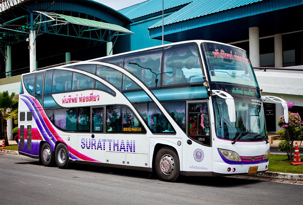 Автобус из аэропорта Пхукета вСураттхани