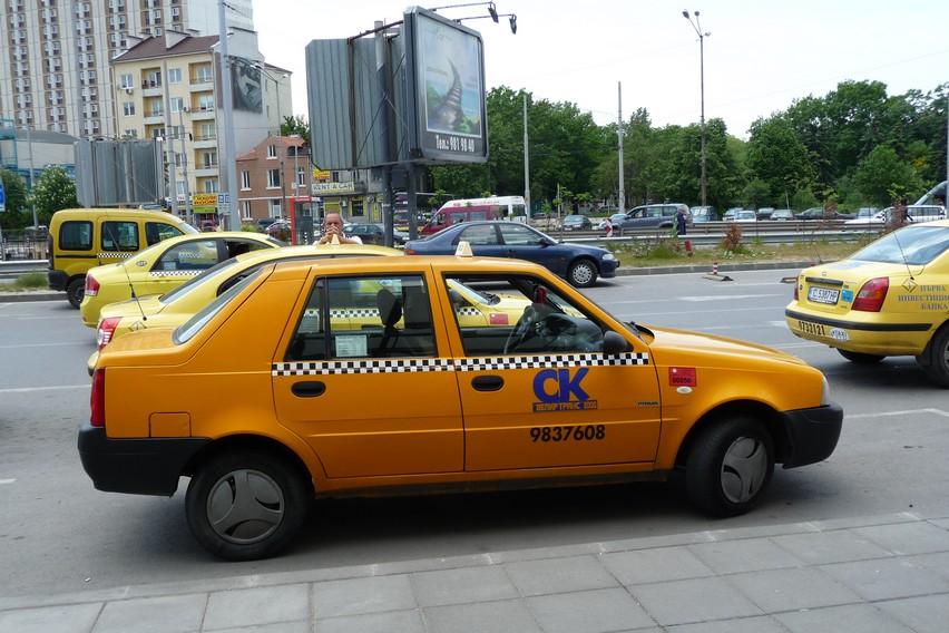 Такси из Бургаса в Софию