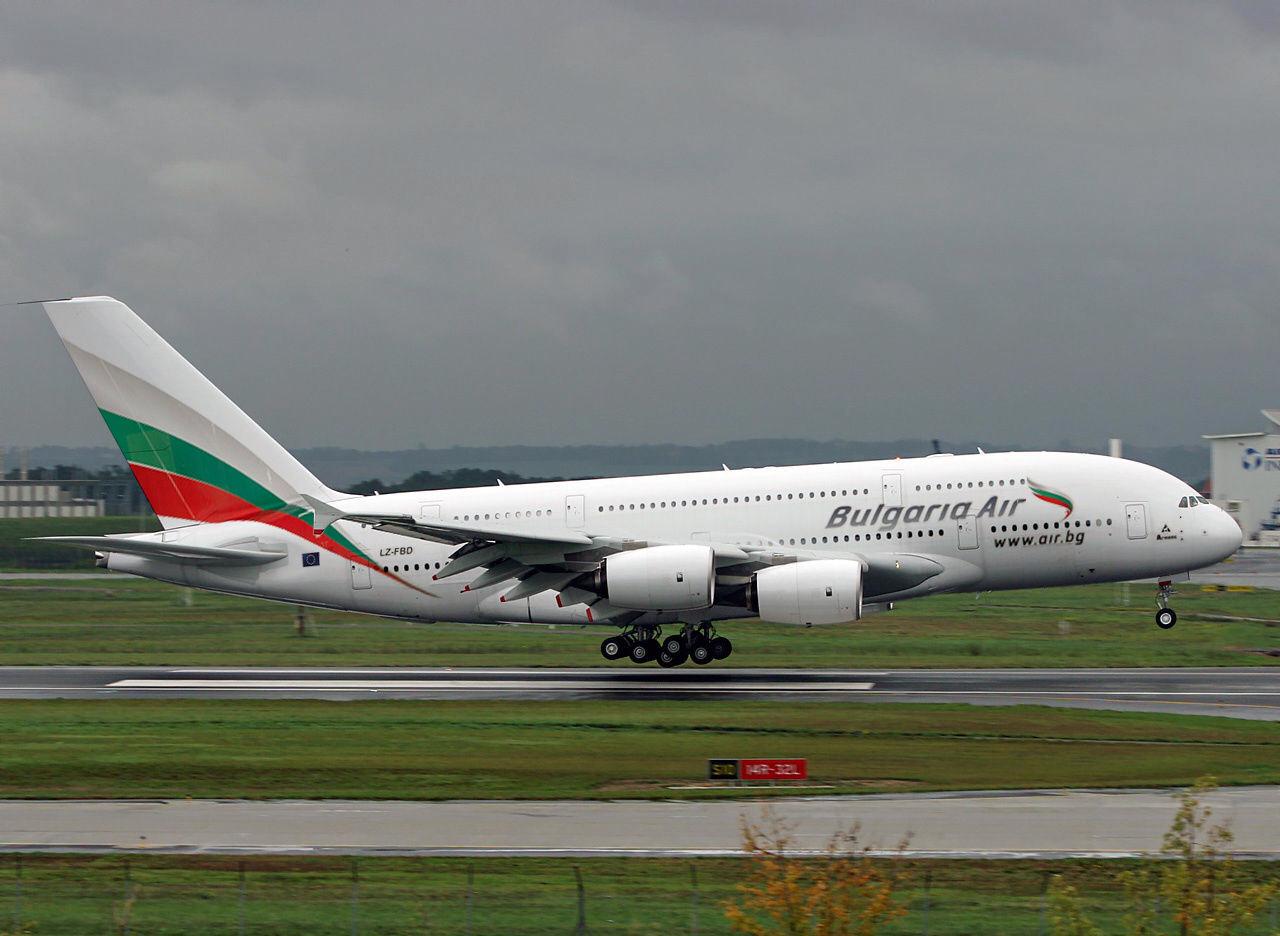 Самолет из Бургаса в Варну