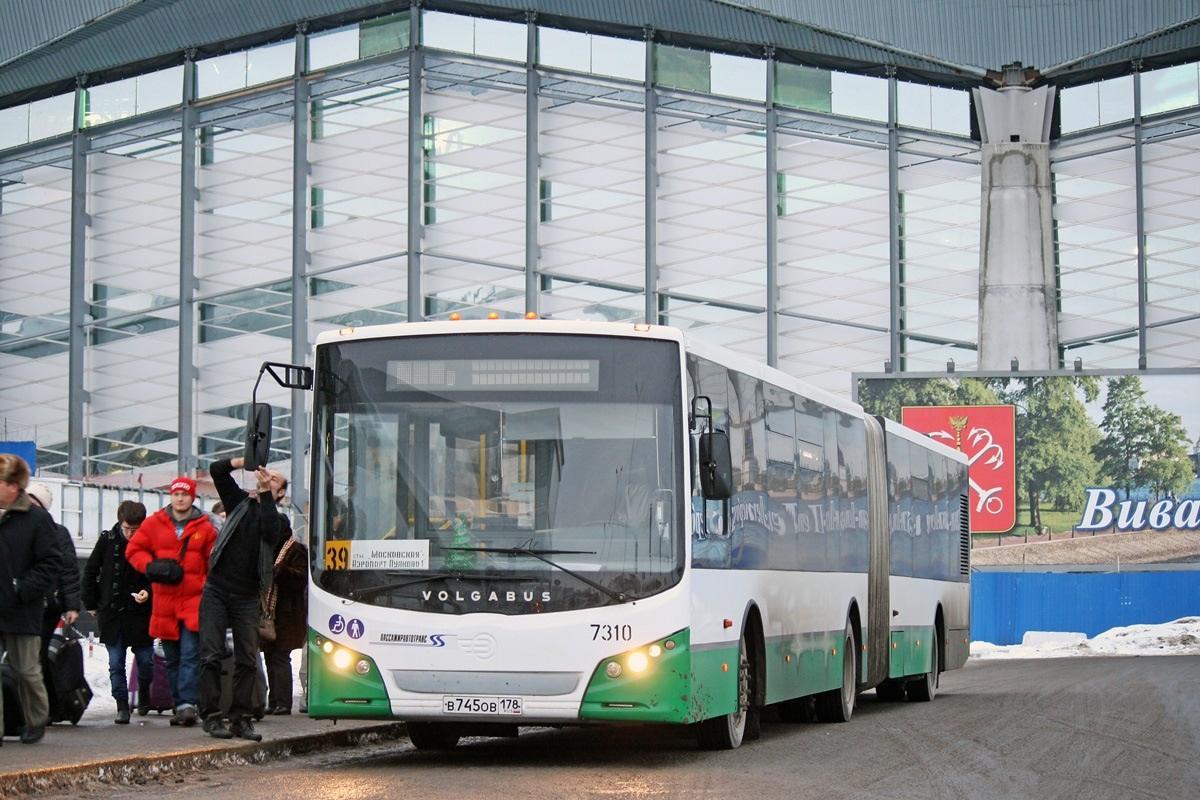 Автобус 39 в аэропорт Пулково