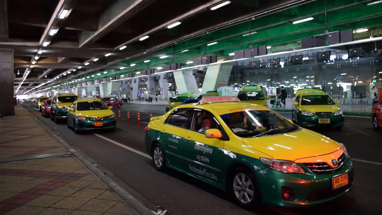 Такси из Бангкока до Краби