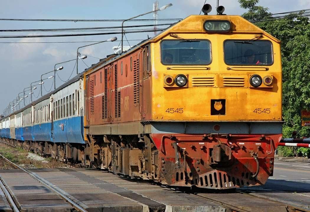 Поезд из Бангкока в Краби