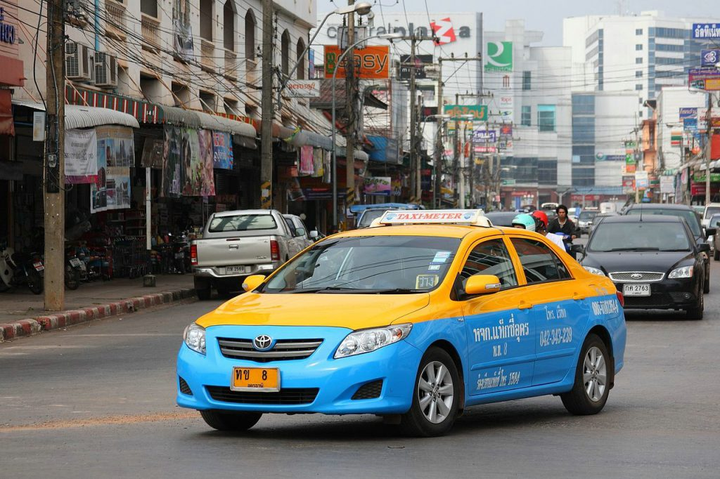 Такси из Паттайи до Самуи