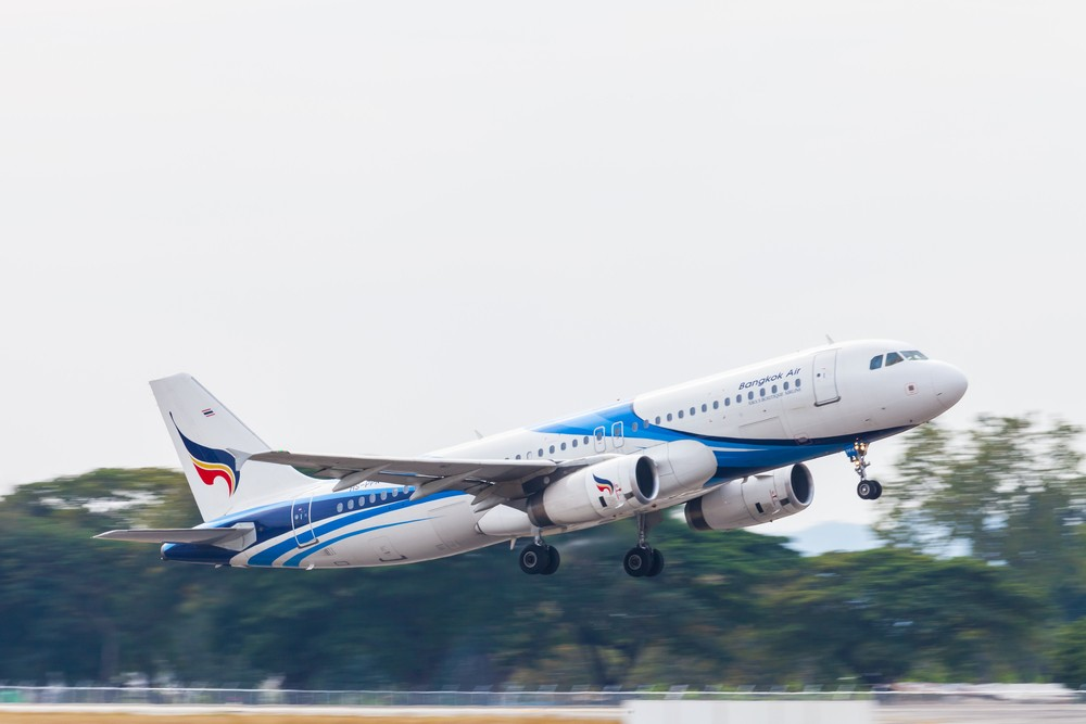 Самолет из Паттайи в Самуи