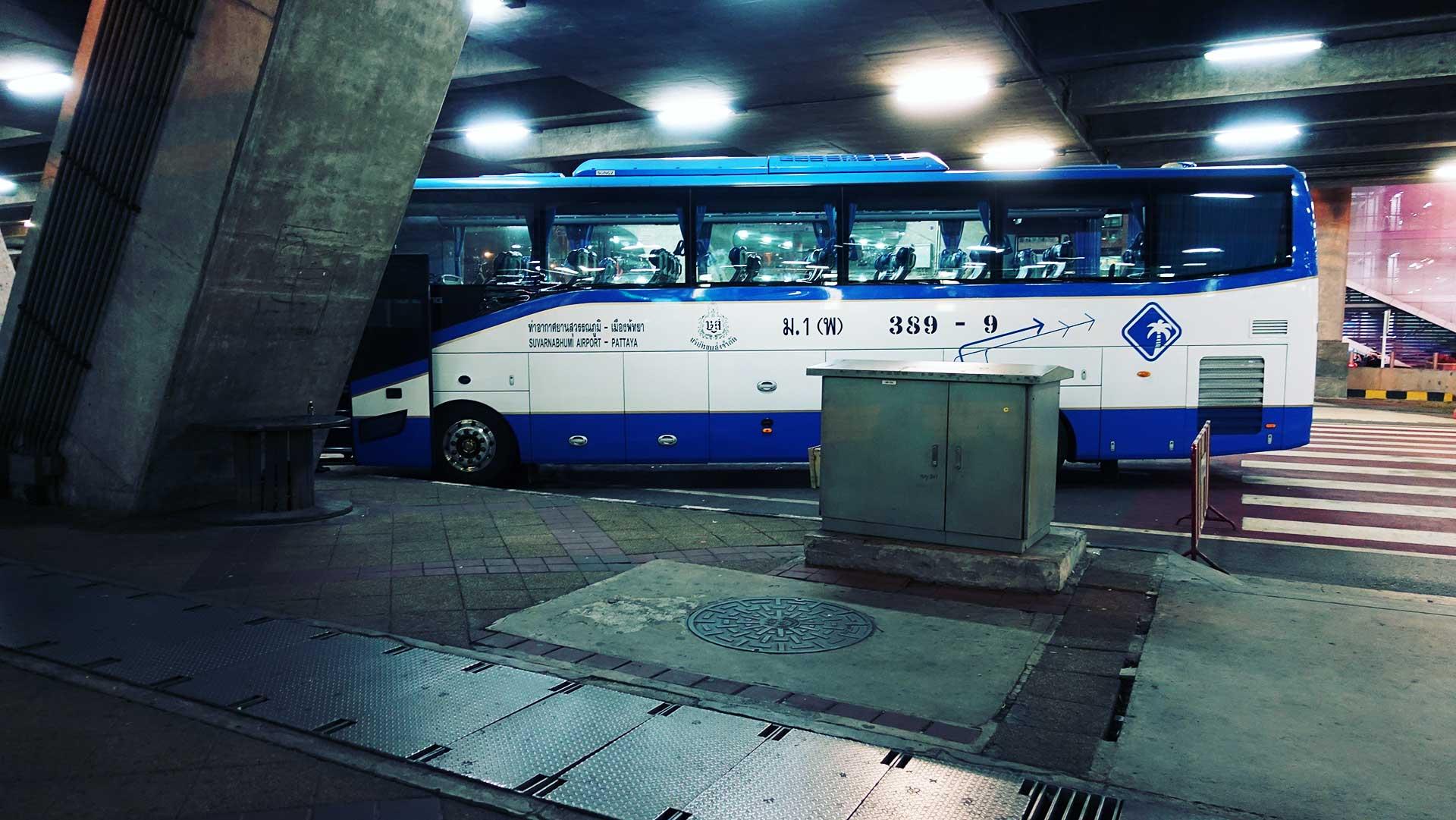 Автобус из Паттайи до Самуи